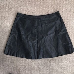 Leather skirt with lining. Wore 2x!